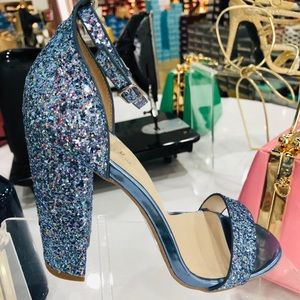 Blue Sparkle Magic Sandals by Quiped